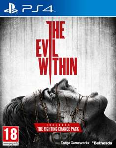 Black Friday - zavvi.com - PS4/XBOX ONE/PS3/XBOX 360 - The Evil Within (PEGI), Fighting Chance Pre-Order Bonus