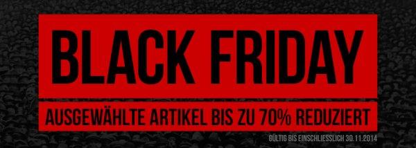 Bis zu 70% bei Kickz.com bis 30.11.2014 auf bestimmte Marken - Black Friday