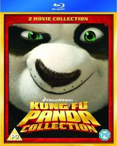 [Blu-ray] Kung Fu Panda Collection Teil 1 & 2 für 6,39€ @zavvi.com