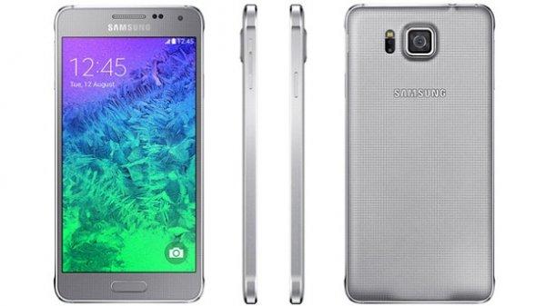 SAMSUNG Galaxy Alpha G850F 32GB sleek silver für 395.90 Euro Lokal Schweiz