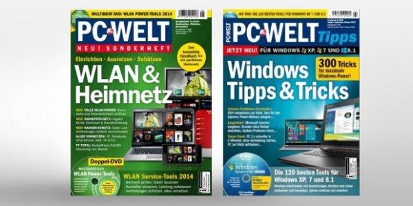 Wir schenken Ihnen zwei PC-WELT-Sonderhefte!