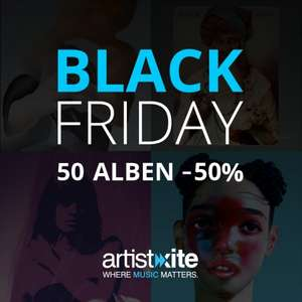 50 Alben für 50% - Wir feiern den Black Friday