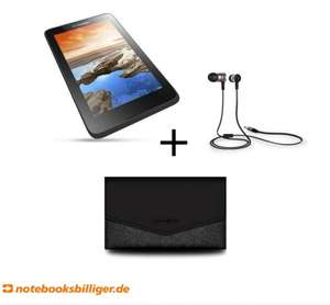 "[Notebooksbilliger.de - Black Friday] Lenovo A70-40 Christmas Special Bundle7"" IPS Tablet A70-40 + Samsonite Sleeve + JBL In-Ear Kopfhörer"