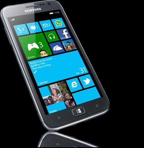 Samsung Ativ S, Windows Smartphone, 4,8 Zoll Super AMOLED Display,   8 Megapixel, Full-HD Video, Win 8.1*