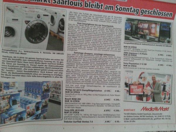 Lokal Mediamarkt Saarlouis PS3 Slim 12 Gb für 144 € und weitere Angebote