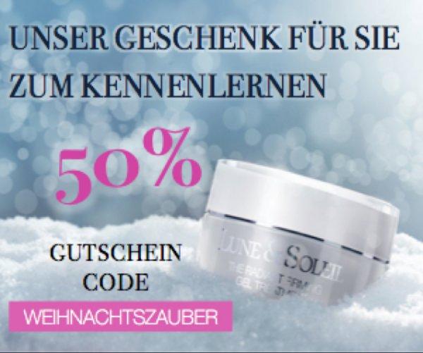 50% auf Luxuskosmetik!