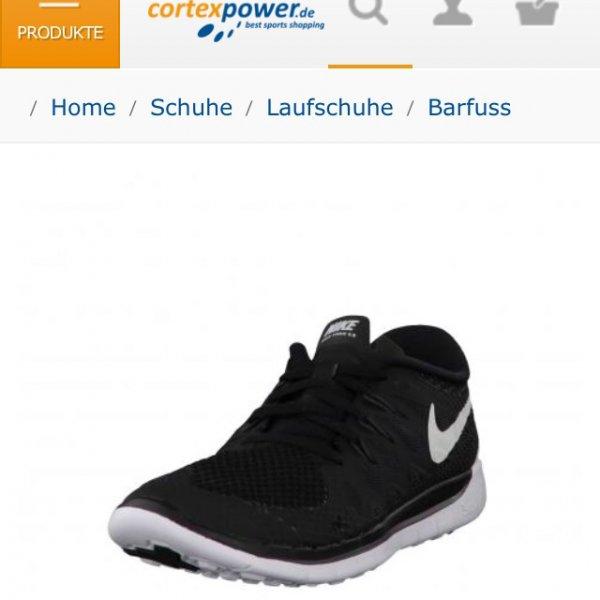 Nike Free 5.0 schwarz gr. 35.5-40