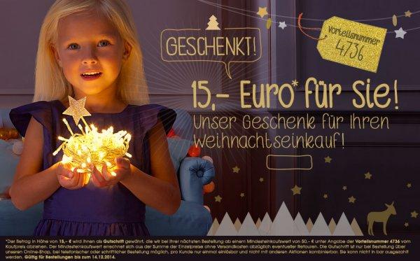 Vertbaudet Onlineshop - Kinderkleidung/Kindermöbel usw. 15€ Rabatt (MBW: 50€)