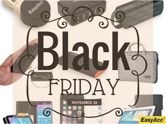 Black Friday: aktuelle EasyAcc Aktionen