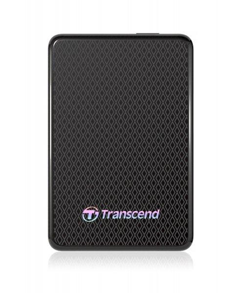 Transcend ESD400 externe SSD-Festplatte 512GB (4,6 cm (1,8 Zoll), USB 3.0) schwarz