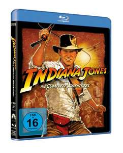 [Blu-ray] Indiana Jones - The Complete Adventures für 19,36 € inkl. Versand @buch.de