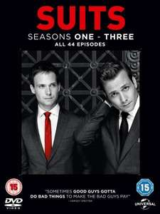 Suits Staffel 1-3 (DVD) O-Ton für 17,95€ @Zavvi