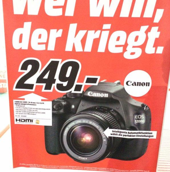 [Lokal Rostock)Canon EOS 1200D + 18-55mm nur 249€