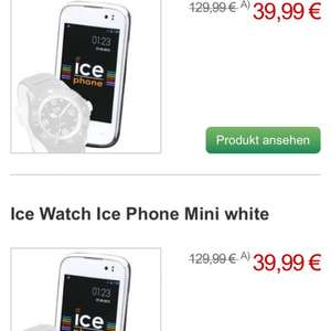 ICE watch + ICE phone android 4.2