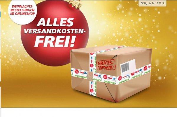 Real Onlineshop ALLES Versandkostenfrei bis 14.12.2014