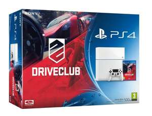 PlayStation 4 (weiß) + DriveClub für 368,76€ @Amazon.co.uk Black Friday