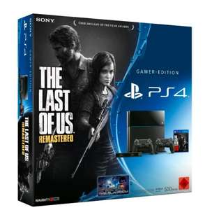 Sony PS4 + The Last of Us Remastered + 2. DualShock 4 Wireless Controller + Kamera für 399€ (VGL: 482€) ab 19 Uhr @Amazon Cyber Monday Week