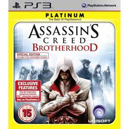 Assassin's Creed: Brotherhood (Platinum) PS3 u. XBOX360