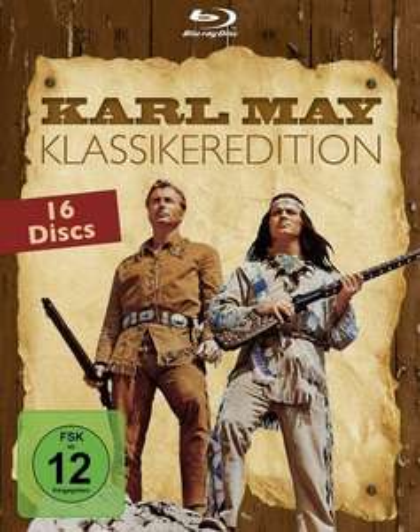 Karl May Klassiker-Edition (Blu-ray) für 74 Euro