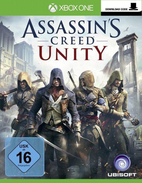 Assassin's Creed: Black Flag für 10€ & Assassins Creed Unity für 30€ zum Download f.die Xbox One