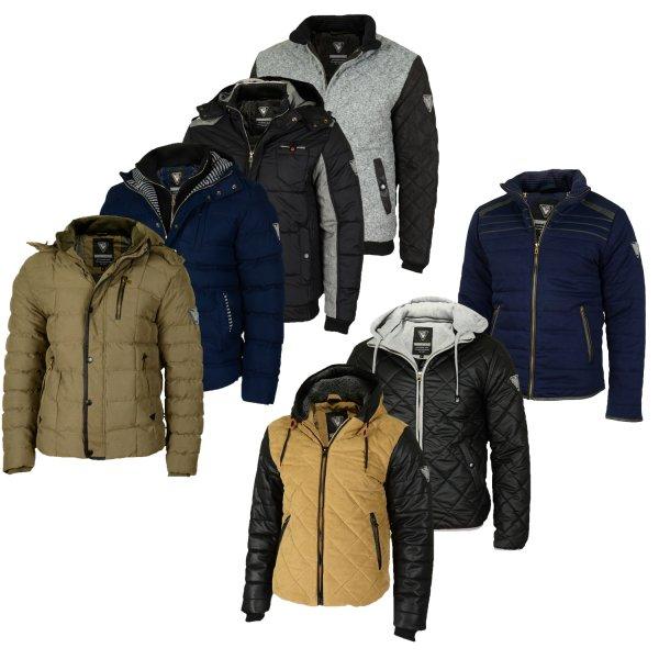Winterjacken bei Ebay für 28,90€ von Hoodboyz
