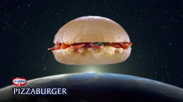 Gratis Pizzaburger auf der Essen Motorshow