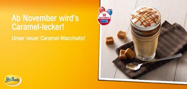[Aral bundesweit in Lokalzeitungen] großer Caramel-Macchiato gratis