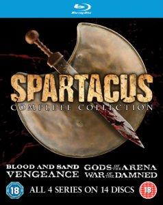 Spartacus Komplettbox (Bluray) 3 Staffeln + Prequel auf Zavvi.com für 31.99 Euro - English only