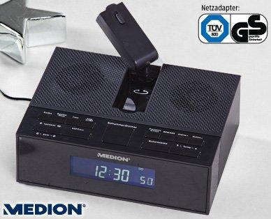 MEDION® E66245 Funkgesteuertes Projektions-Uhrenradio -  ab 4.12.2014 (Aldi Süd) - 16,99 €