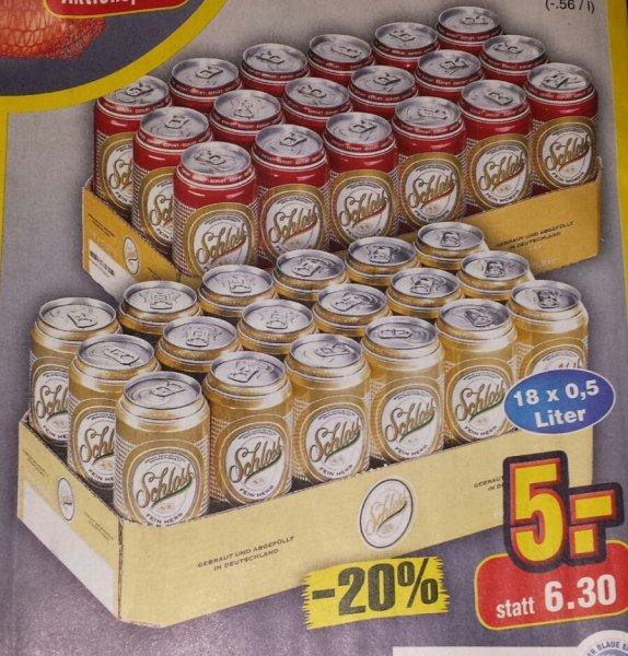 Bier Dosen 18 Stück 0,5l [Netto Markt ohne Hund]