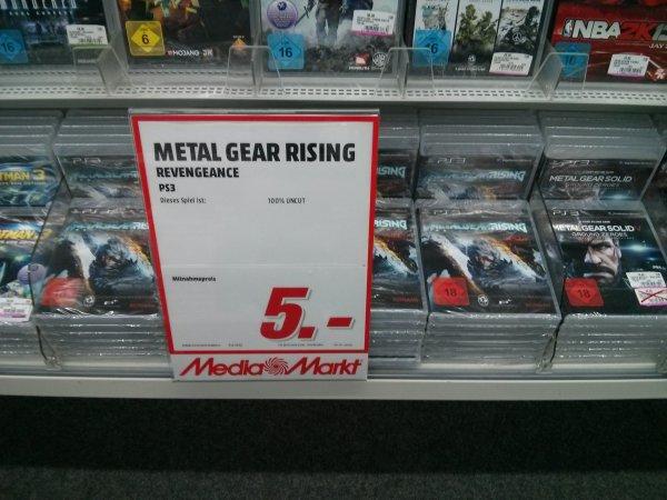 [LOKAL] MM Gießen Metal Gear Rising Revengance PS3 für 5€