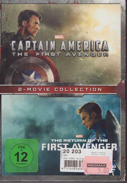 [Lokal Chemnitz] MediMax - Captain America & Return of the First Avenger (DVD-Doppelpack) für 5€
