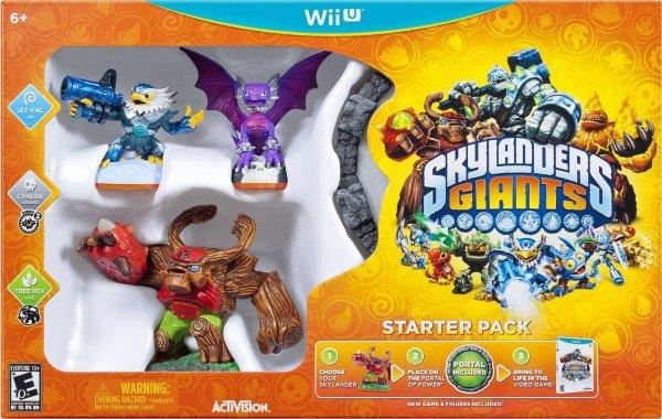 Skylanders Giants - Starter Pack Wii U für 18,98€ @expert-technomarkt.de