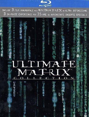 Matrix - Ultimate Collection (Ltd) (4 Blu-Ray+3 Dvd) für 13€ @Amazon.it
