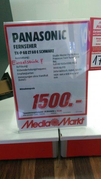 [lokales Einzelstückschnäppchen] Panasonic ZT60 für 1.500 EUR MM Neu-Ulm
