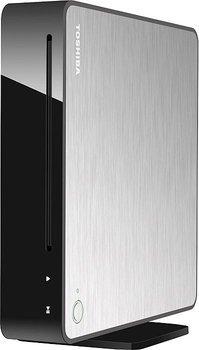 Toshiba BDX5500KE Vertical Stand 3D Smart UHD Upscaling Blu-Ray Player (WLAN, Miracast, USB 2.0, DLNA, HDMI, Apps, Vertical Stand) mit Gun-Metal-Finish schwarz/silber für 119,90€ @ Zackzack