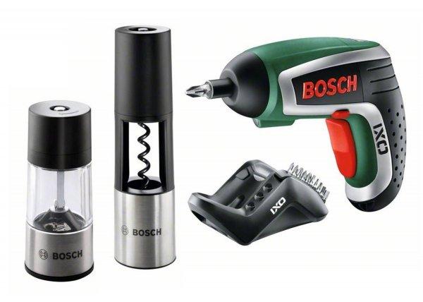 Bosch IXO Gourmet Set mit Korkenzieher und Pfeffermühle für 44,92€ @amazon.co.uk