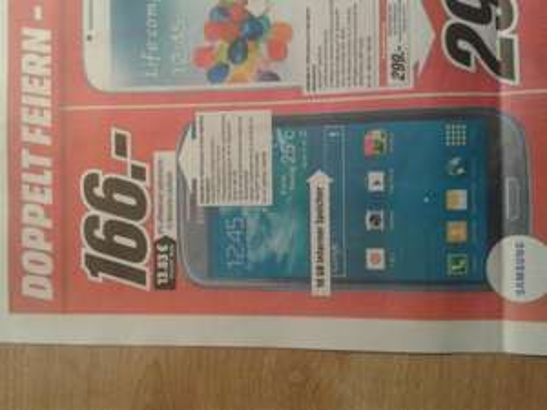 [ Media Markt Karlsruhe ] SamsungGalaxy S3 Neo