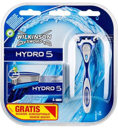 [Kaufland] Wilkinson Sword Hydro 5 Rasierer mit Klinge + 4 Ersatzklingen für 6,99€ minus 3,50€ Cashback von Coupies!