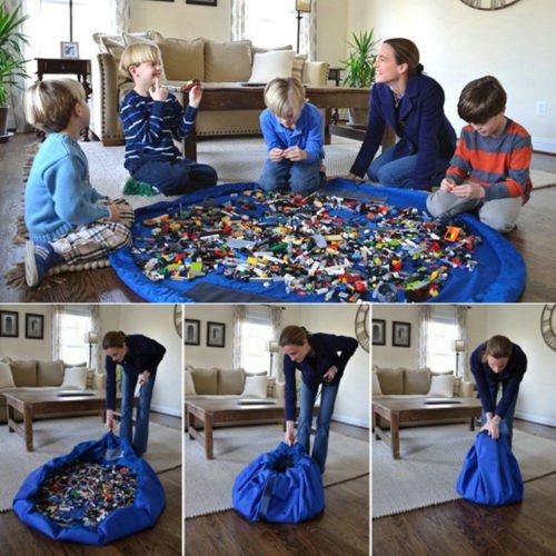 Aufräumbeutel LEGO Spieldecke Barbie, Playmobil