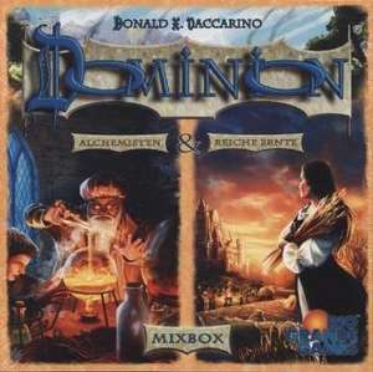Dominion Mixbox - Reiche Ernte; Die Alchemisten - Hans im Glück - Kartenspiel - Erweiterung