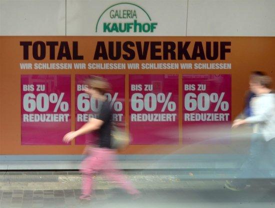 LOKAL Düsseldorf  Berliner Allee  Kaufhof: macht Ende des Jahres dicht –  Ausverkauf