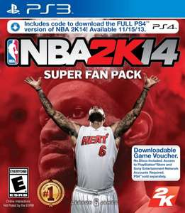 NBA 2K14 (PS3/PS4)) Digital Code (US Only) $9,99
