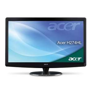 Acer H274HLbmid (27 Zoll) LED Monitor (Full HD, VGA, DVI, HDMI, 5ms Reaktionszeit) - 239 €