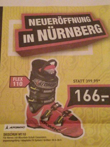 [Lokal Nürnberg] Atomic Skischuh M110 und weitere Artikel Hervis Neueröffnung