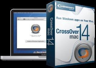 Codeweavers CrossOver 14 Mac €16.80 (-65% Rabatt)