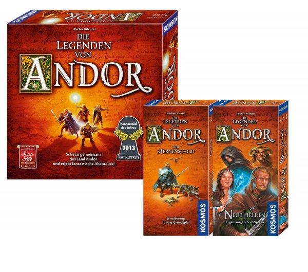 [amazon.de] Kosmos 971359 - Bundle - Die Legenden von Andor