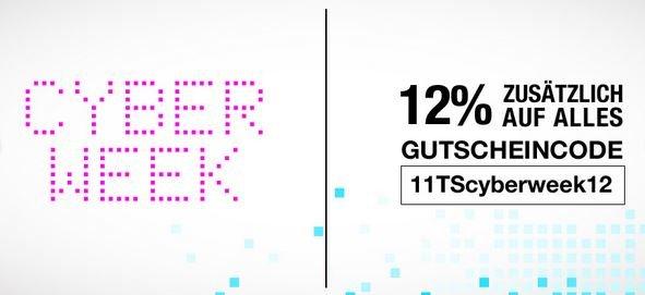 CyberWeek: 12% auf das gesamte Sortiment von 11teamsports