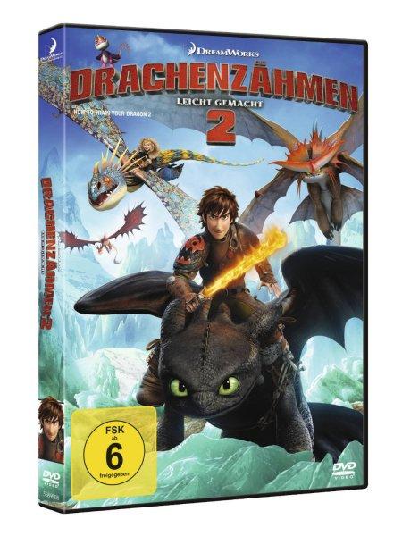"""[Amazon + Reebate] DVD """"Drachenzähmen leicht gemacht 2"""" für 6,99€"""