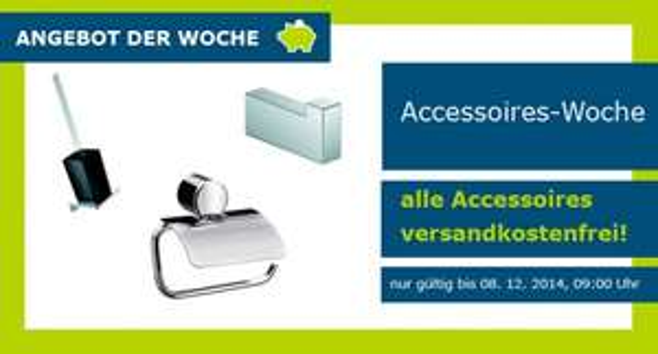 Kostenloser Versand aller Badaccessoires bei badwell.de + 10€ Gutschein ab min. Bestellwert 70€
